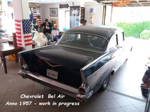 Chevrolet Bel Air 1957 work in progress