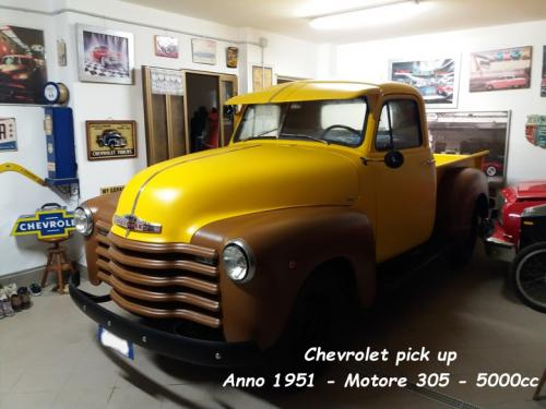 Chevrolet pick up 1951 305 5000cc