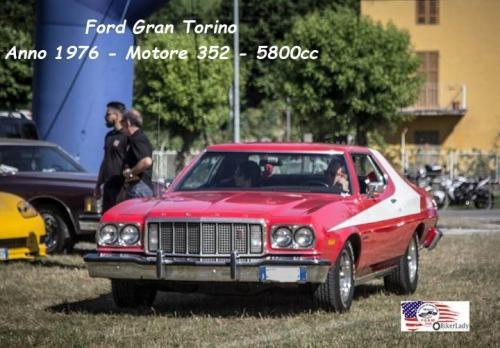 Ford Gran Torino 1976 Motore 352 5800cc