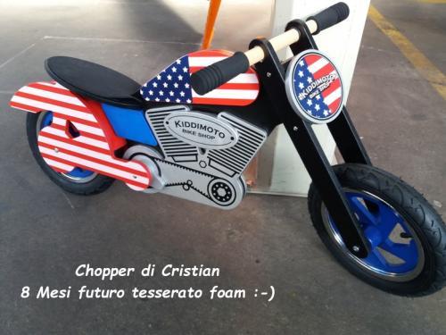 Chopper Cristian 8 mesi futuro tesserato F.O.A.M.