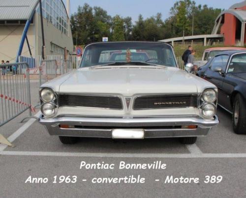 Pontiac Bonneville 1963 Convertible motore 389
