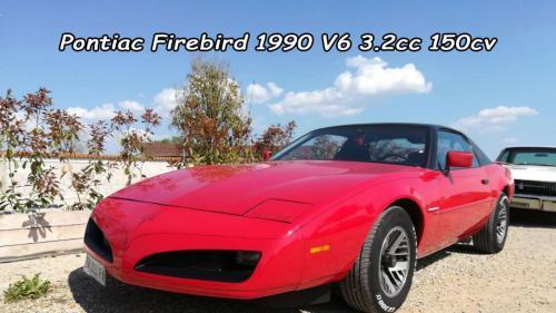 Pontiac Firebird 1990 v6 3.2cc 150cv