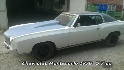 Chevrolet Montecarlo 1970 5.7cc