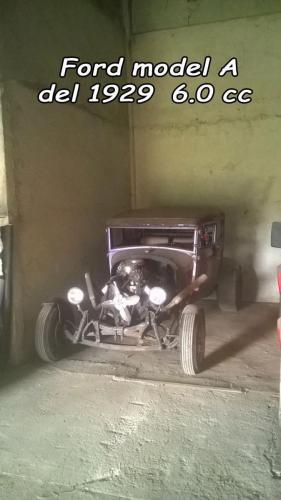 Ford Model a 1929 6.0cc