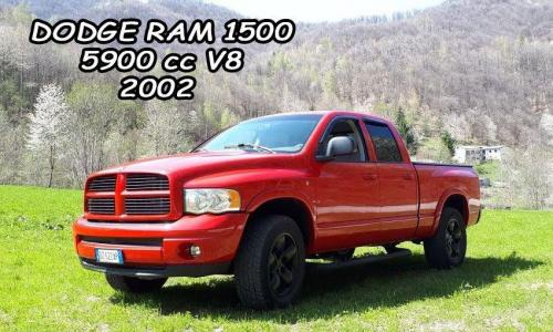 Dodge Ram 1500 5900cc V8 2002