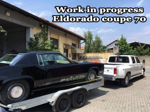 Work in progress Eldorado coupe 70