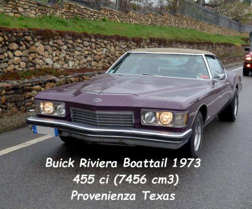 Buick Riviera Boattail 1973 455ci 7456cc Prov. Texas