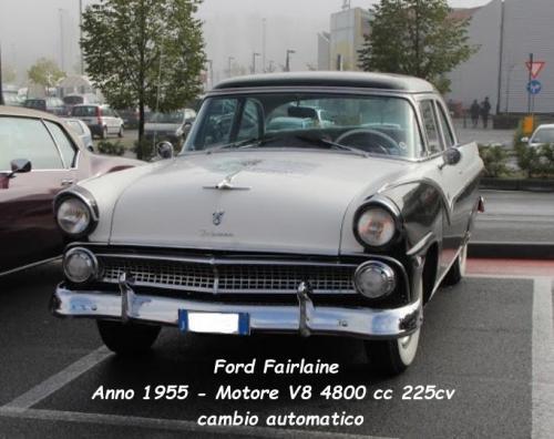 Ford Fairlaine 1955 V8 4800xx 225cv