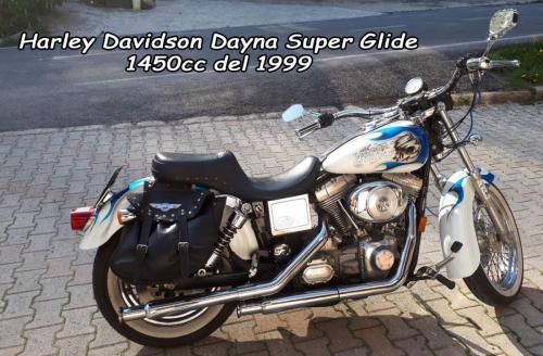 Harley Davidson Dayna Super Glide 1450cc 1999