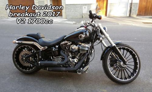 Harley Davidson Breakaut 2017 V2 1700cc
