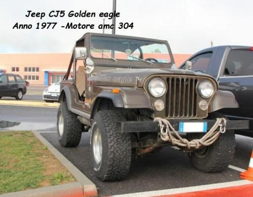 Jeep CJ5 Golden eagle 1977 Motore amc 304