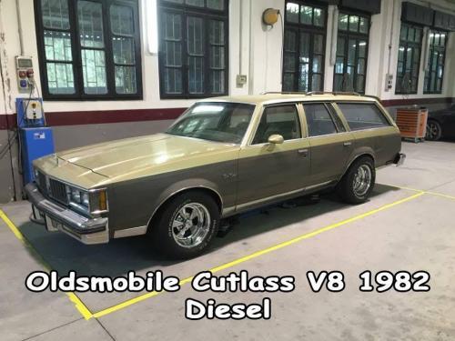Oldsmobile Cutlass V8 1982 Diesel