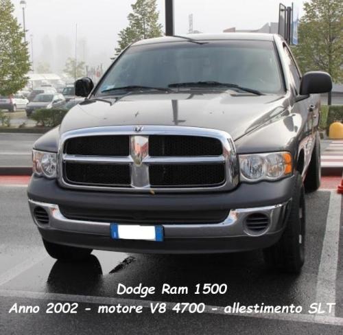 Dodge Ram 1500 2002 v8 4700cc SLT