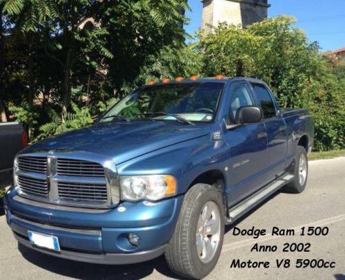 Dodge Ram 1500 2002 V8 5900cc